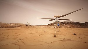 Can A Drone Fly On Mars?