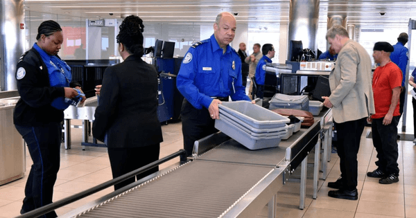 Security Checking of Baggage at the airport