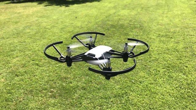 Ryze Tello Drone ready to take off.