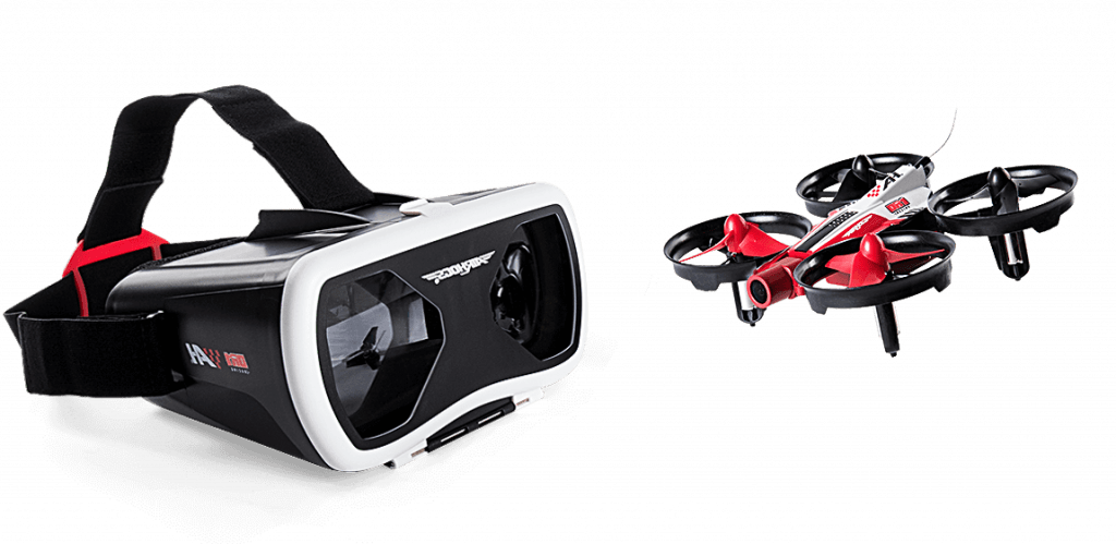 Air Hogs FPV Racing Drone with FPV Goggles.