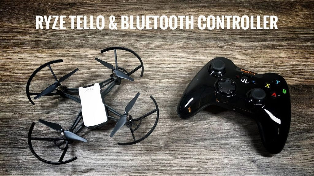 Ryze Tello with its Blue Tooth Controller.