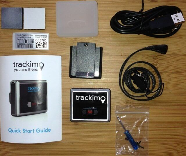 Trackimo GPS Tracker to track  your drone in case it get lost or out of range.