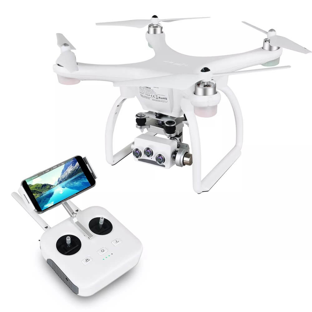 Image of UPAIR Two drone with its controller.