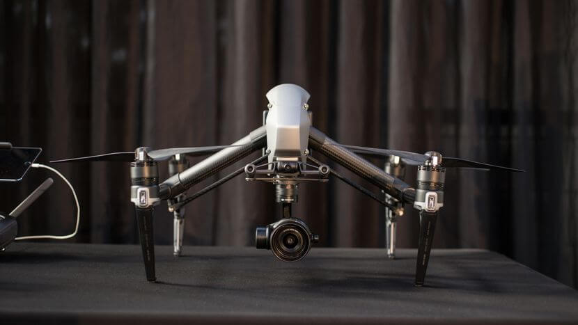 DJI INSPIRE 2, my choice of best drone for real estate marketing.