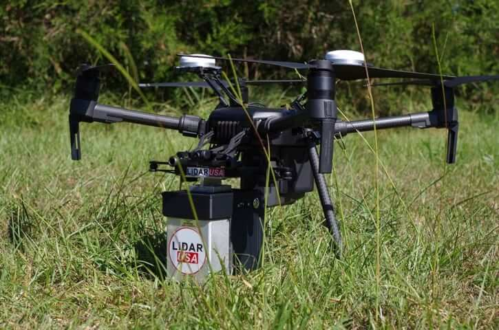 Lidar USA Drone with payload
