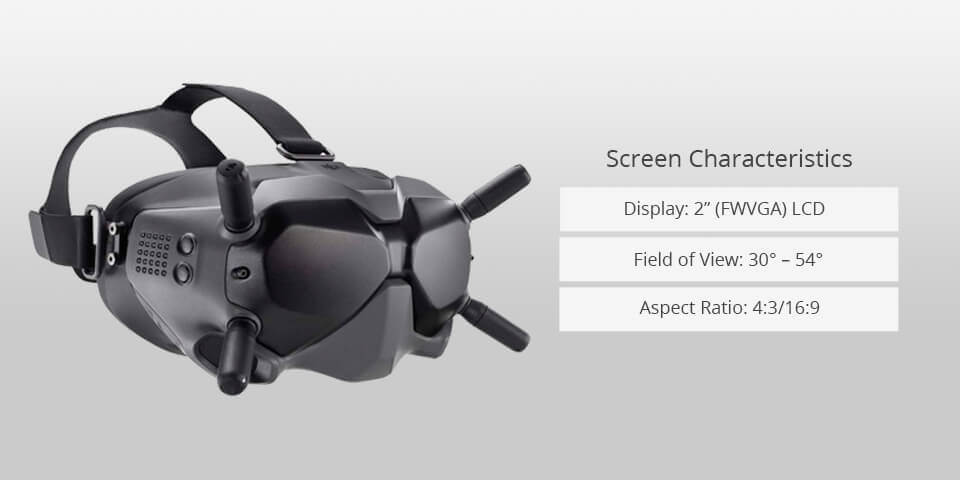 Low Profile Goggles is one of the three forms of FPV Goggles.