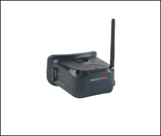 Makerfire FPV Goggles are great fro kids and they are cheap.