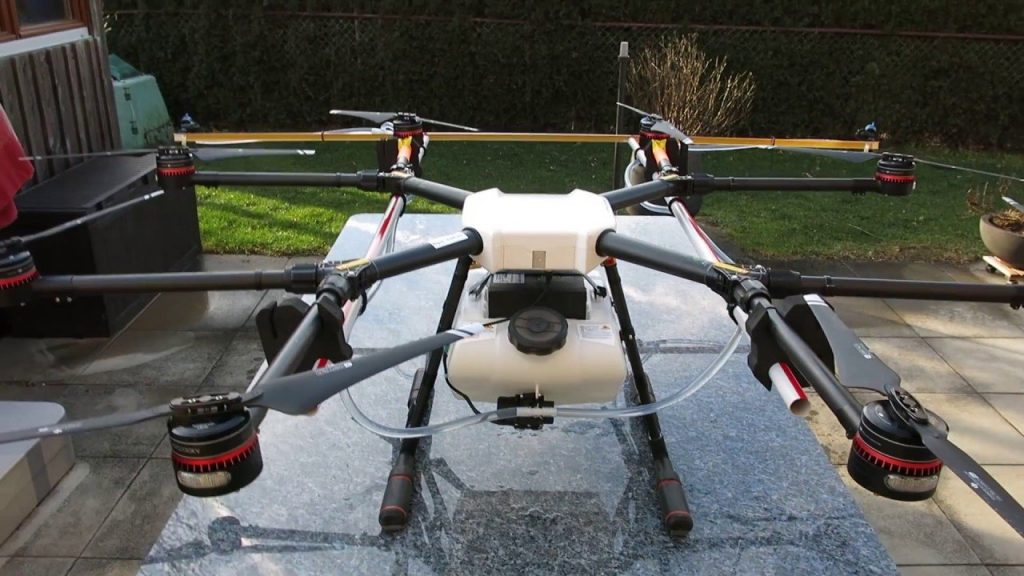 DJI Agras MG-1 is an agricultural drone