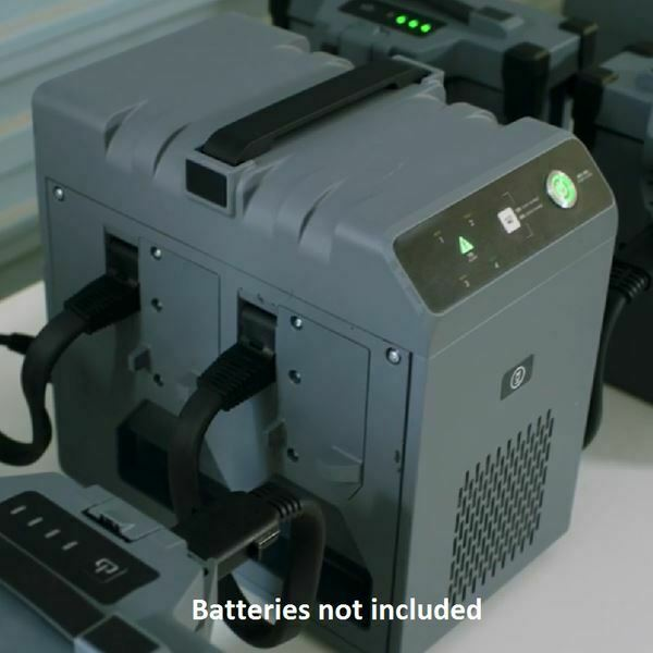 DJI AGRAS T20 Batteries getting charged.