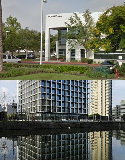 Headquarters of Yuneec Company in China and USA.
