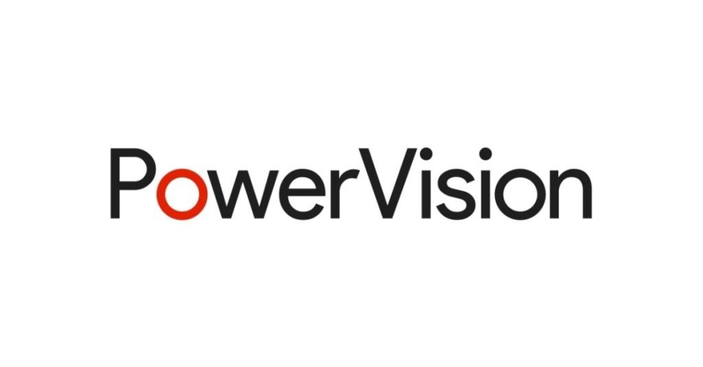 Logo in Black and White of PowerVision Technology Ltd.