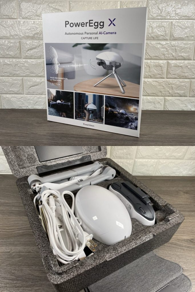 PowerVision Power Egg X drone unboxing