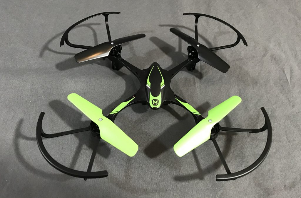 Sky Viper e1700 in green colour lying on a floor