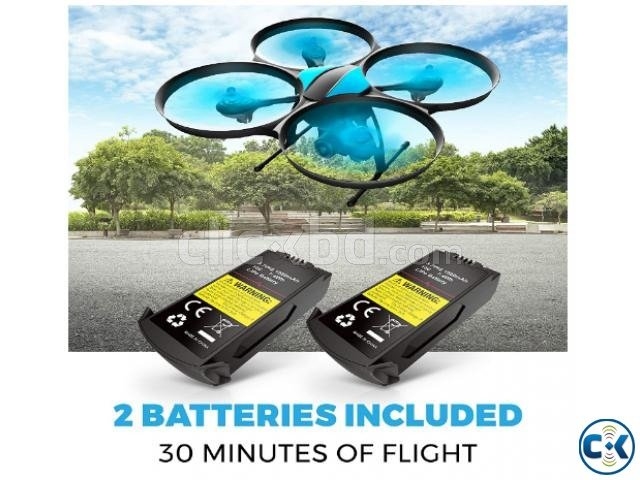 Force1 U49WF drone and its  Batteries