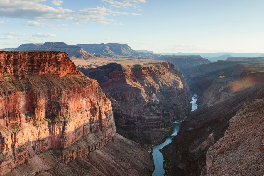 A view of grand canyon national park